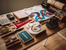A Crowded Work Table